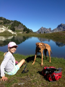 Leah at Yellow Aster Butte